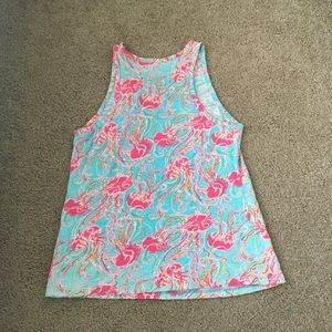 Lilly Pulitzer Tops - Lilly Pulitzer Jellies Be Jammin Tank